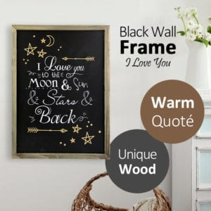 Crystocraft Frame I Love You - Text