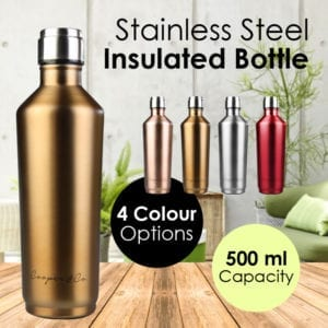 500ml Stainless Steel Insulated Water Bottle
