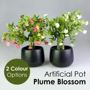 Artificial Flower Potted Blossom