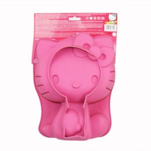 Licensed Sanrio Pink Silicone Hello Kitty Cake Mould