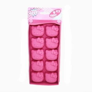 Licensed Sanrio Pink Silicone Hello Kitty Ice Tray