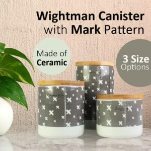 Wightman Canister with Mark Pattern