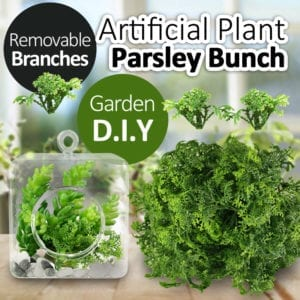 Artificial Parsley Bunch Removable Branch