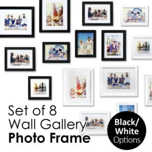 Set of 8 Wall Gallery Photo Frame