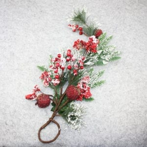 Floral design - Christmas ornament