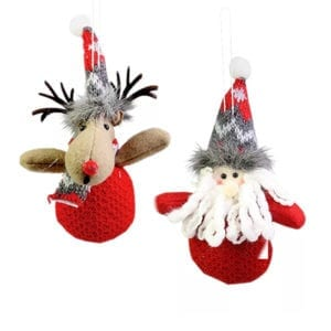 Christmas-Tree-Hanging-Knitted-Ornaments