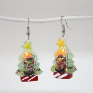 Christmas Flashing Earring Tree
