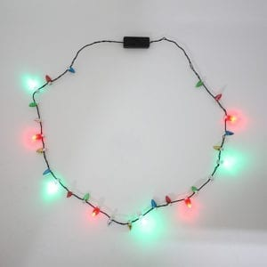 Christmas Flashing Necklace