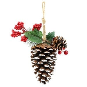 Christmas Large Pine Corn Ornament