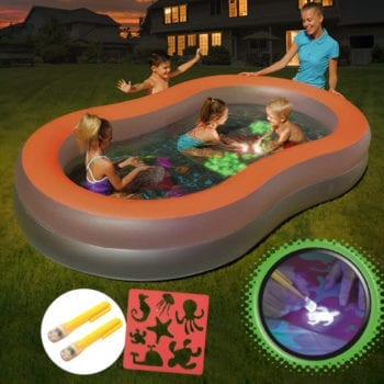 BESTWAY 2.8x1.57M Inflatable Doodle Glow Pool