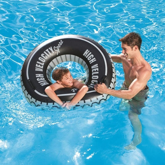 Bestway 1.19M High Velocity Tire Tube Swim Ring