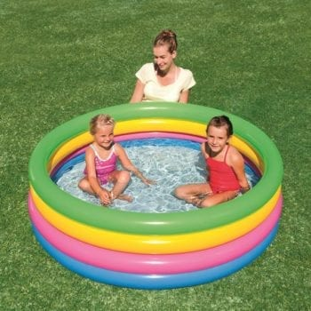 "48""x 8"" 2 Ring Paddling Pool - Swimming pool"