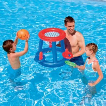 Pool Basketball Hoop - Basketball