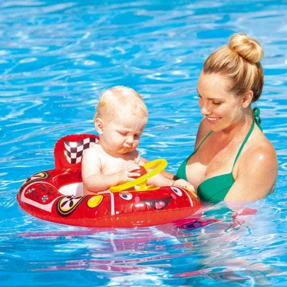Bestway Inflatable Racer Baby Care Seat