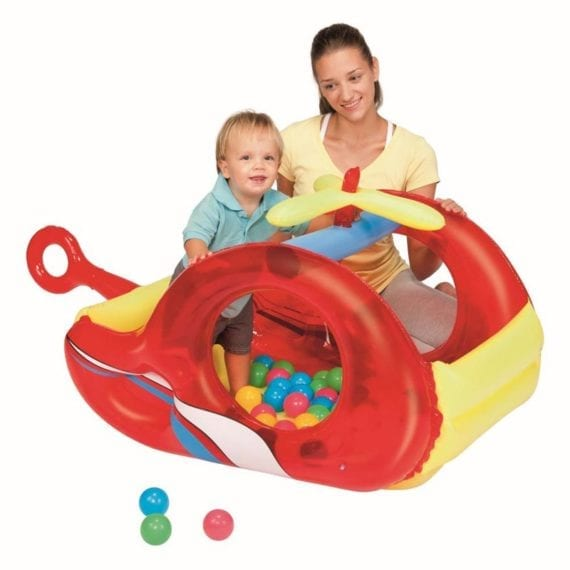 Helicopter - Bestway Fisher Price Train Ball Pit - 25 Balls