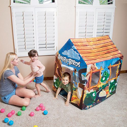 Bestway Kids Angry Birds Play Tent House Indoor Toys