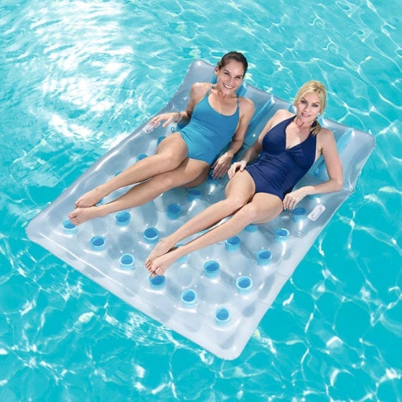 Bestway 1.93m x 1.42m Inflatable Double Beach Bed