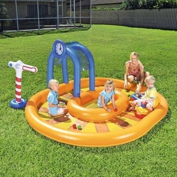 Bestway 2.85m x 2.24m x 1.19m Little Caboose Play Pool