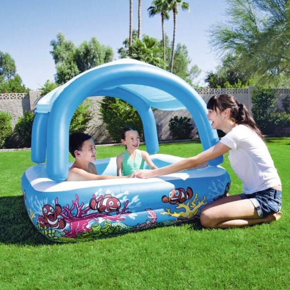 Bestway Canopy Play Pool with Shade 1.40m x 1.40m